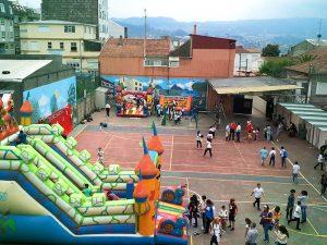 fiestas colegio San Fernando vigo