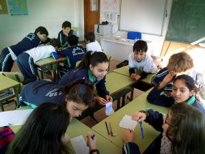 aula colegio San Fernando vigo