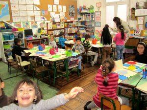 aulas colegio San Fernando vigo