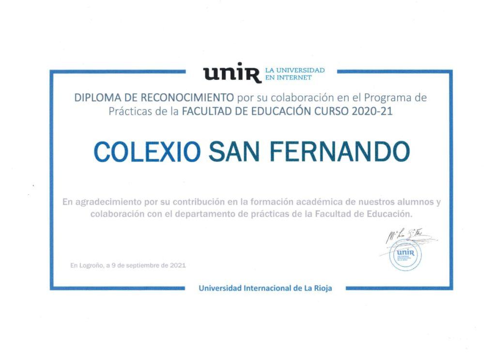 Diploma UNIR
